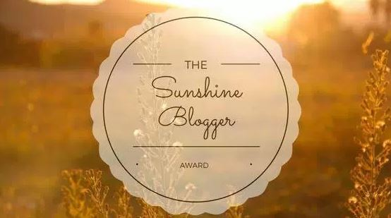 My time to SHINE – Sunshine Award.