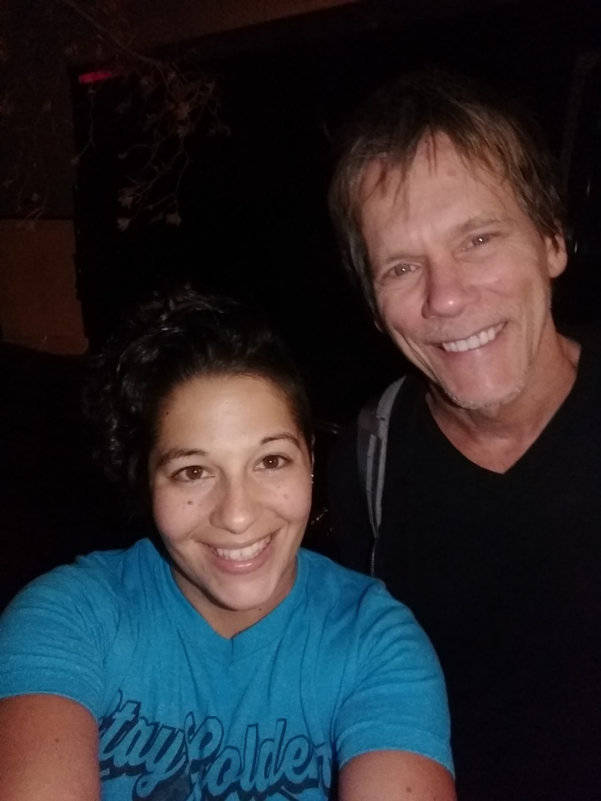 Meeting Kevin Bacon in Cleveland.