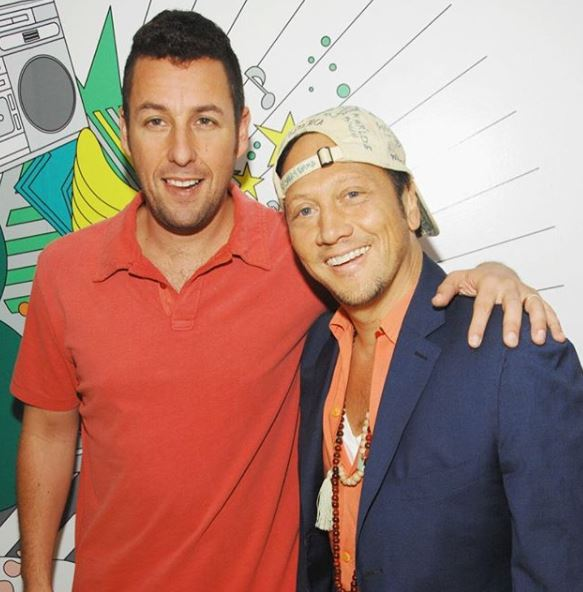 Meeting Comedians Adam Sandler & Rob Schneider