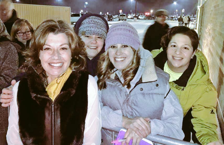 Amy Grant Meets Fans After Concert in Northfield, Ohio.