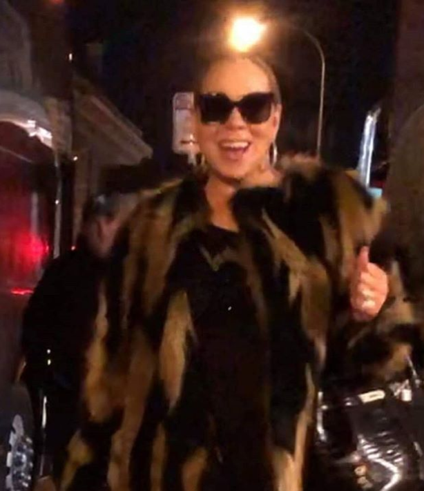 Mariah Carey Greets Fans After Concert in Buffalo